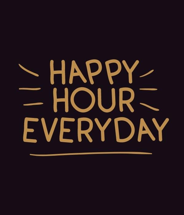 happy hour - chicha bruxelles